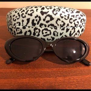 Cat eye Betsey Johnson sunglasses